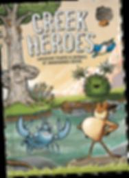 Creek Heroes brochure by Louis Decrevel