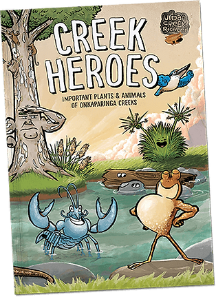 Creek Heroes brochure by Louis Decrevel