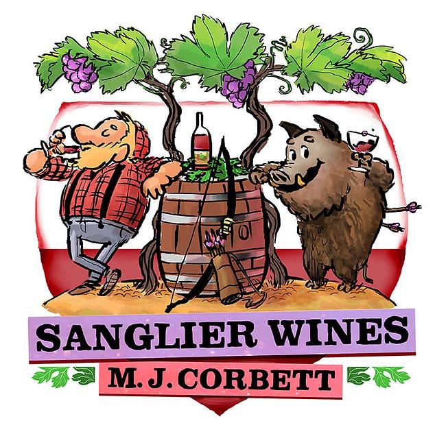 Sanglier Wines logo