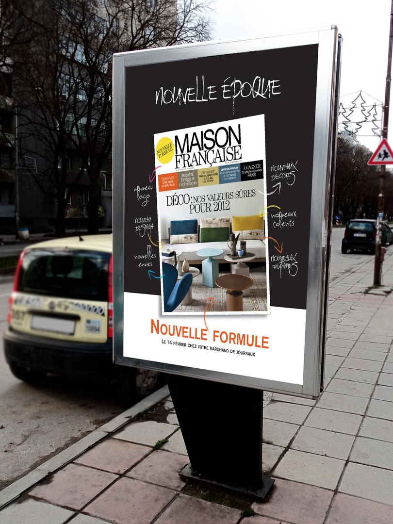 Affiche Maison Française