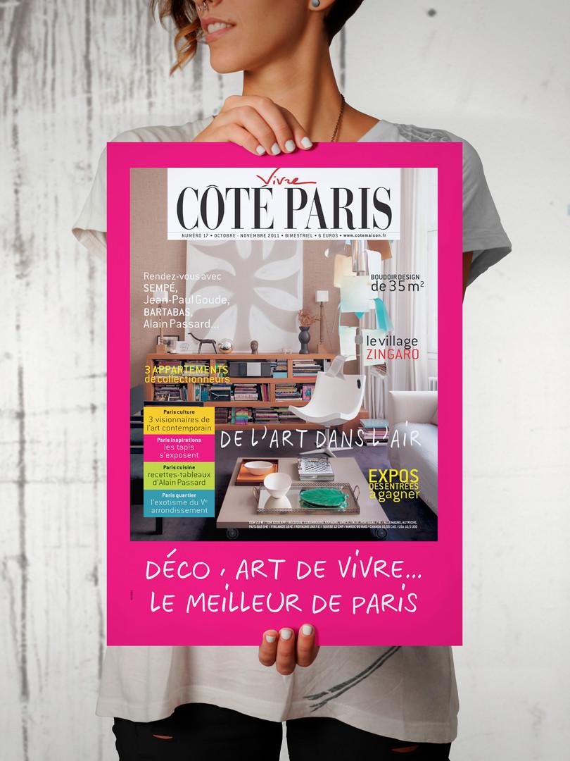 Affiche Côté Paris