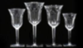 Baccarat taças cristal locação