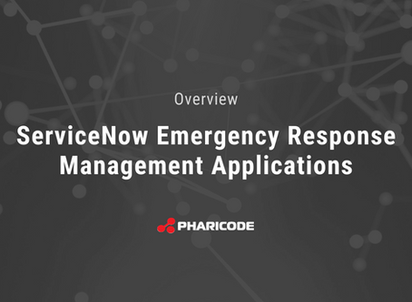 Share the Wealth: ServiceNow Releases Four Emergency Response Management Applications