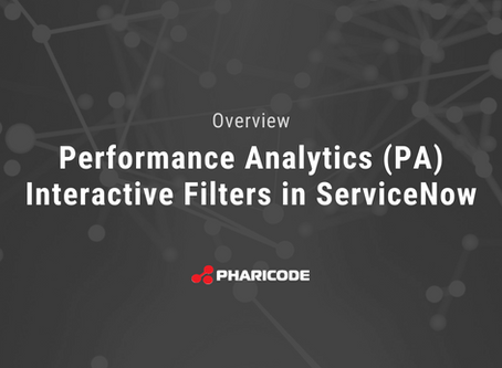Share the Wealth: Interactive Performance Analytics (PA) Filters in ServiceNow
