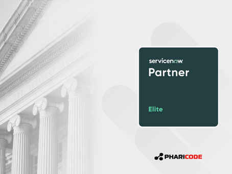 Pharicode LLC Becomes An Elite ServiceNow Partner