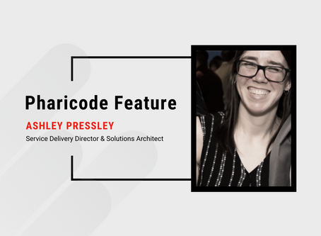Pharicode Feature: Ashley Pressley, Service Delivery Director
