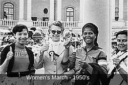 Founder, Donna Katzin protesting-7