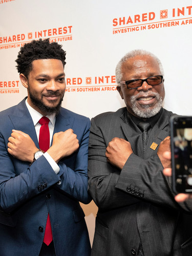 Guest and Dr. John Kani