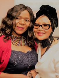 Thuli Madonsela and Felicia Mabuza-Suttle