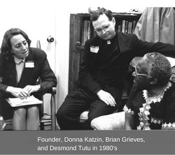 Founder, Donna Katzin protesting-3
