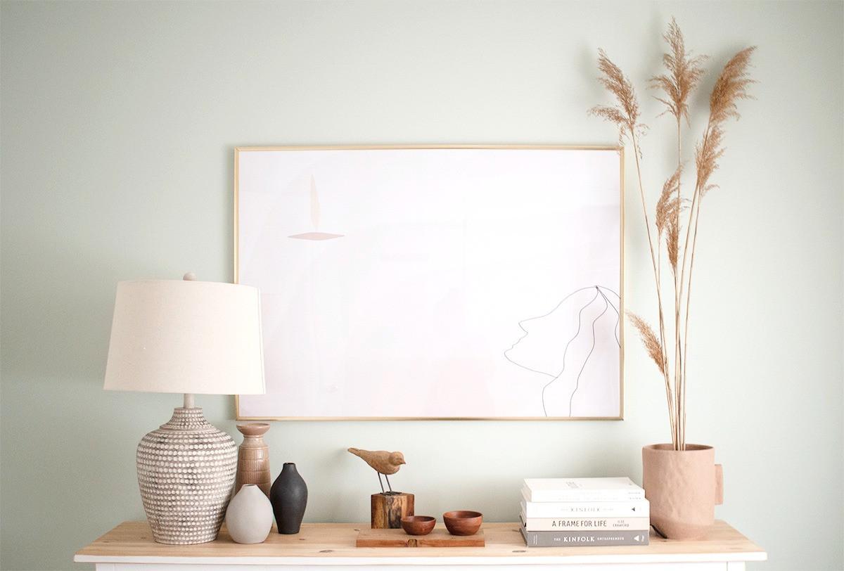 Sideboard_styling_minimalist_kinfolk_Sha
