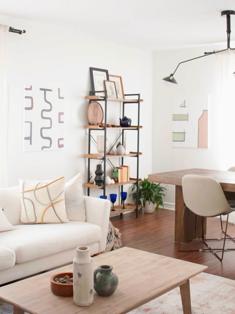 Open Living + Dining