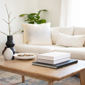 How to Style Mindfully ::1 Coffee Table with 3 Looks