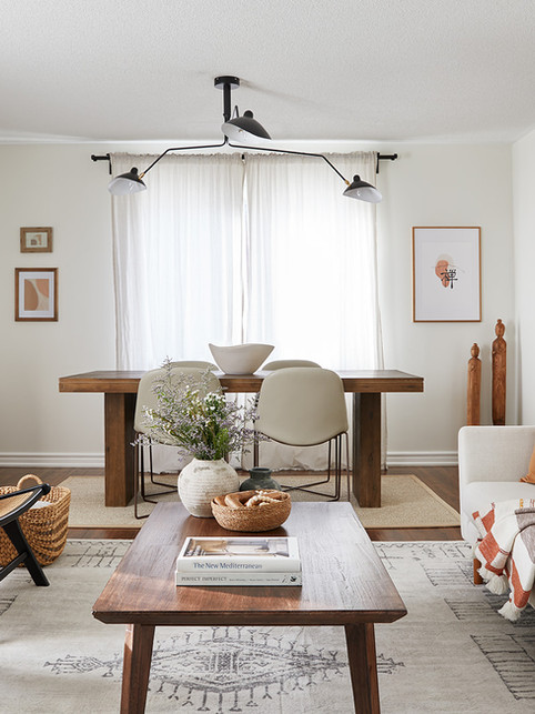 Earthy Living, Dining & Kitchen
