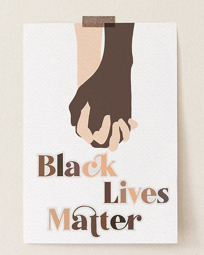 Black Lives Matter Printable Signs (free)