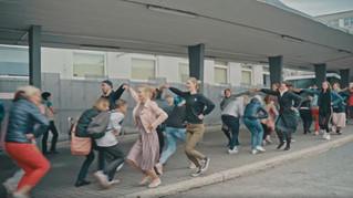 Flashmob Tallinna Bussijaamas