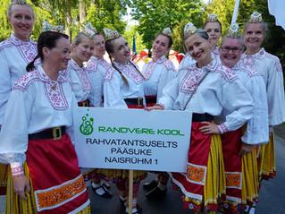 Pääsuke osales Harjumaa laulu- ja tantsupeol