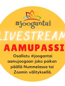 #joogantai-aamupassi