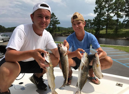 The Pamlico Sound providing Plentiful Days