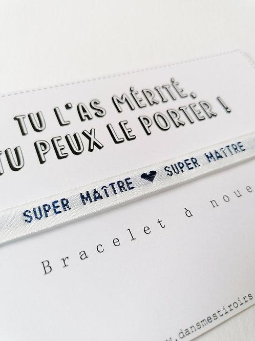 Bracelet à nouer - Super Maître !