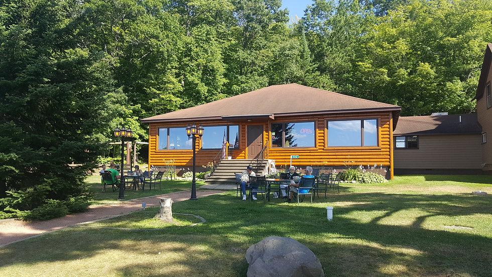 Hillside Resort from the outside