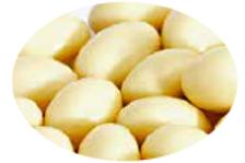 Amêndoa chocolate branco