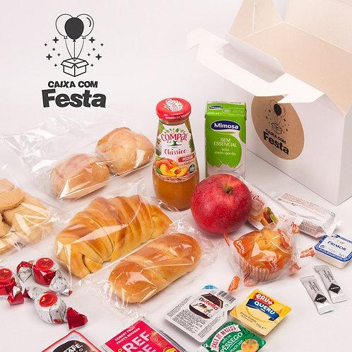 Caixa Pequeno Almoço - Tradicional (Serve 1 pessoa)