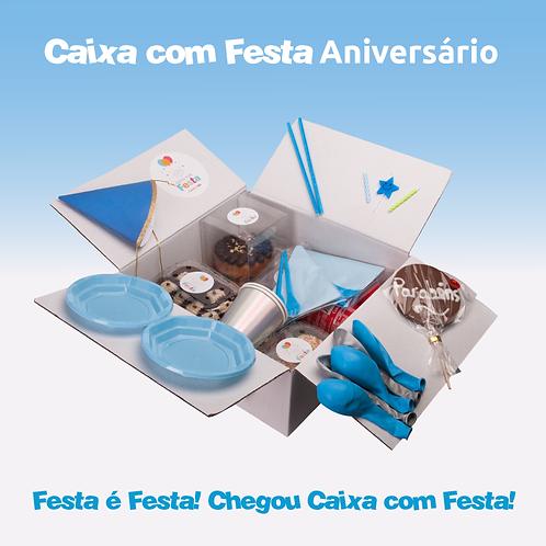 """Caixa com Festa """"Aniversário 2"""""""