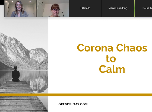Corona Chaos to Calm