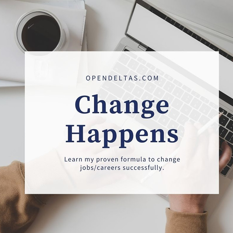 Change Happens Webinar