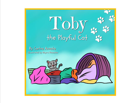 """TOBY, THE PLAYFUL CAT"""
