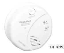 First Alert Combination Smoke & Carbon Monoxide Alarm