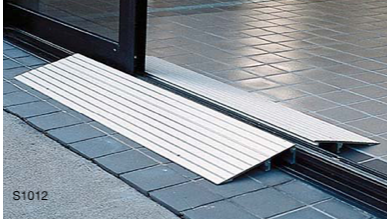 "1"" Aluminum Threshold Ramp"