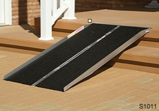 "Suitcase Ramp for max 12"" Rise"