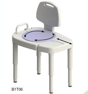 Bariatric Sliding Tub Transfer Bench