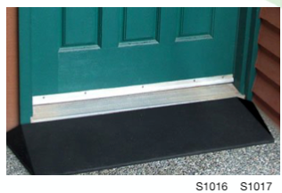 "2"" Rubber Threshold Ramp"
