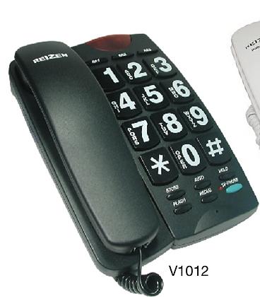 Reizen Big Button Phone (Black)