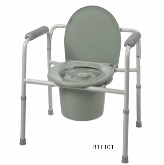 Probasics All-in-One Bedside Commode