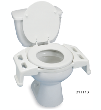 Reversible Toilet Transfer Seat