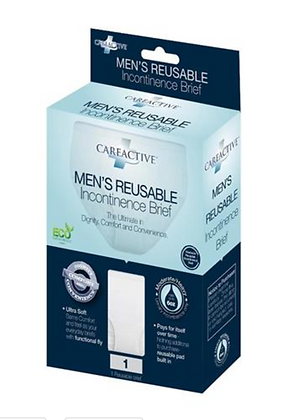 Men's Reusable Incontinence Brief - Single