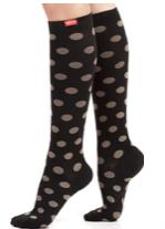Vim & Vigr Patterned Compression Socks