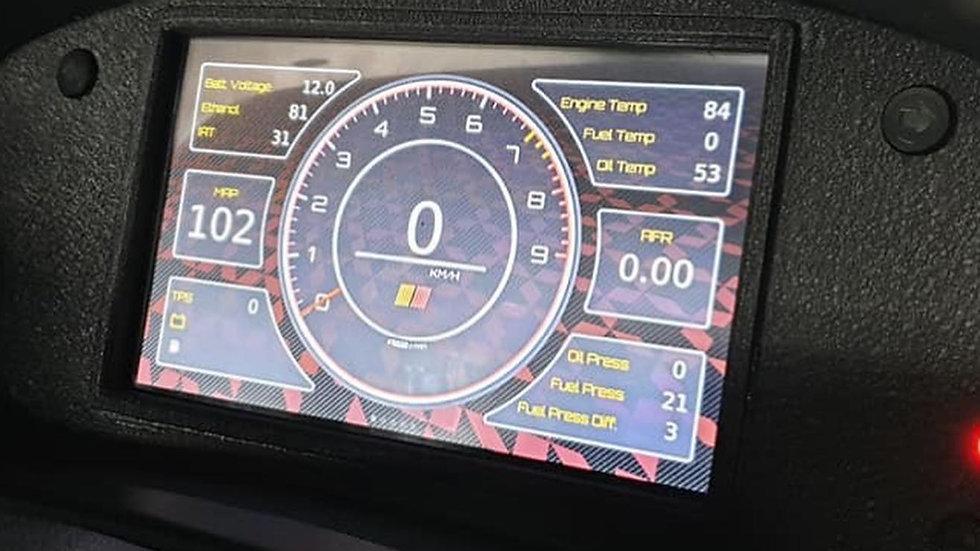 PowerTune GPS Digital Dash Display