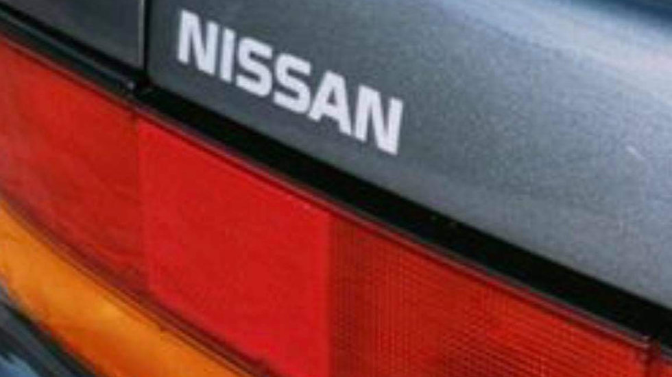 S13 OEM style Nissan decal