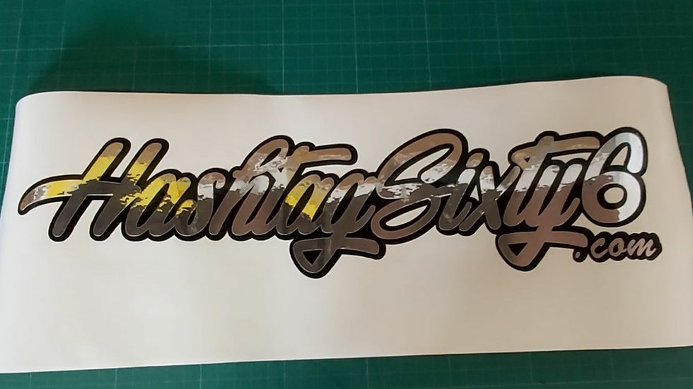 HashtagSixty6 Decal