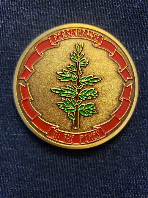Perseverance in the Pines - 10 Year Commemorative Coin