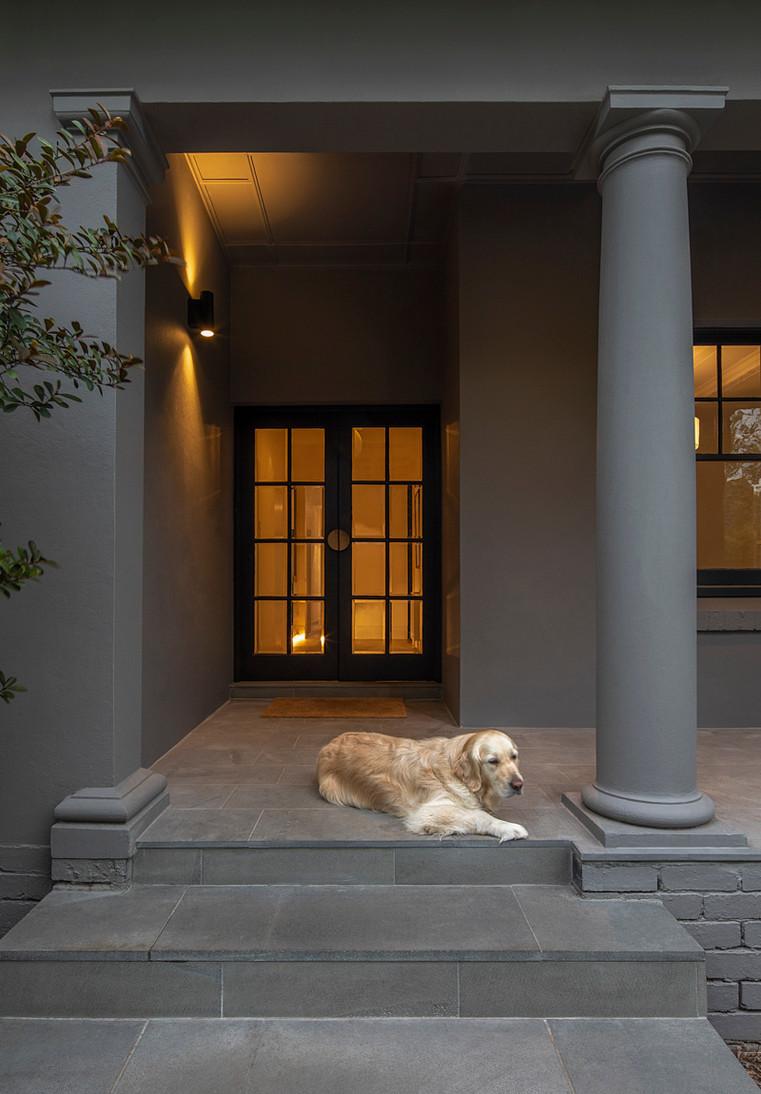 Kooyong House front door