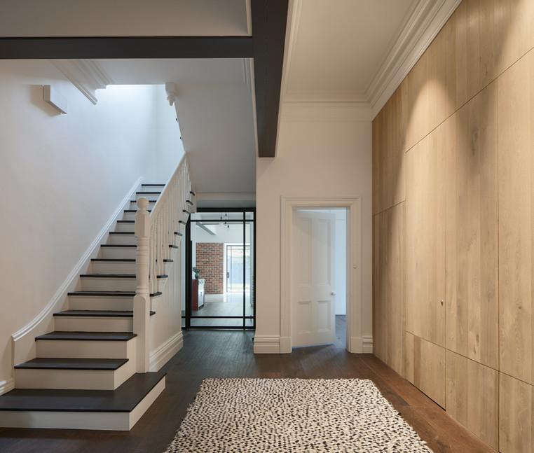 Dixon Chambers stair