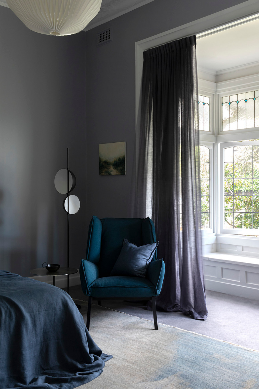 Luxurious materials in the Main Bedroom