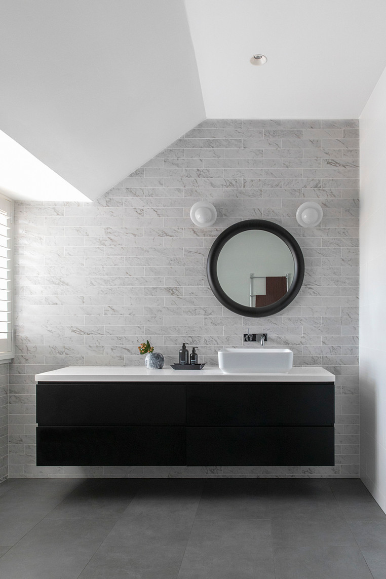 A family bathroom with character