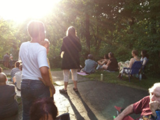 Summer Solstice Activation of the winged serpent at Serpent Mound Ohio